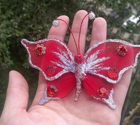 آموزش هنرهای دستی  , آموزش ساخت پروانه تزیینی