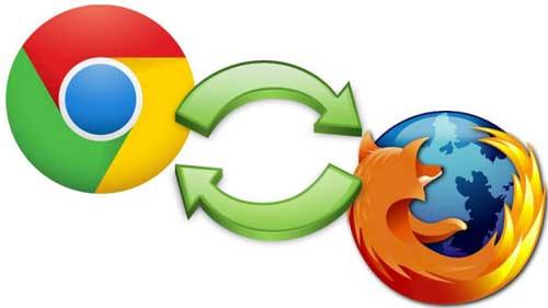 آموزش ادغام کردن مرورگرهای Chrome و Firefox - کروم و فایر فاکس