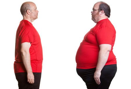 عوامل موثر بر چاق شدن ,علت اضافه وزن,علت چاق شدن
