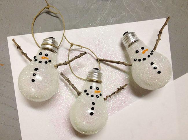 ایده های عالی برای بازیافت لامپ های قدیمی