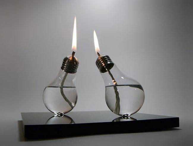 ایده های عالی برای استفاده از لامپ های قدیمی