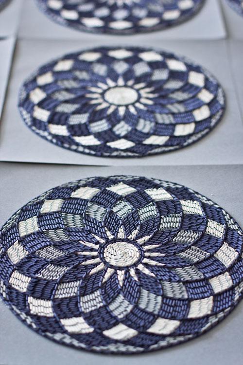 تابلوفرش های کاغذی بسیار زیبا - هنر گانجان آیلاوادی