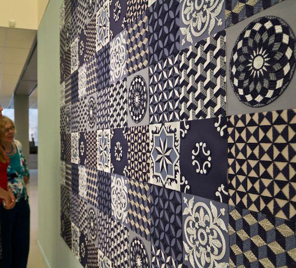تابلو فرش کاغذی - هنر گانجان آیلاوادی
