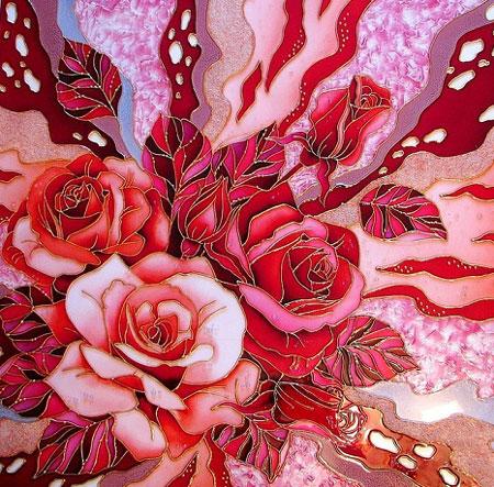 آموزش ویترای  , نمونه کارهای زیبای هنر ویترای