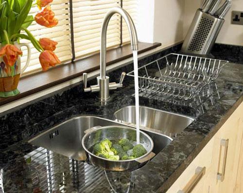 ازبین بردن بوی بد فاضلاب آشپزخانه