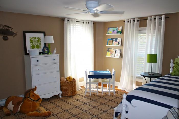 چیدمان اتاق پسرانه - طراحی داخلی