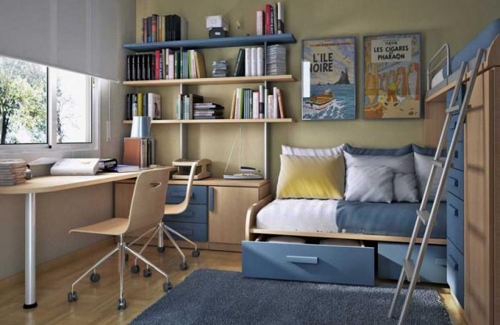 دکوراسیون اتاق پسرانه - طراحی داخلی
