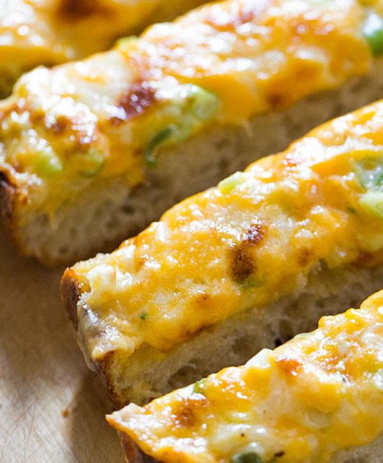 آشپزی آسان فست فود  , طرز تهیه نان پنیری لذیذ و خوشمزه