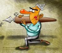 کاریکاتور با موضوع روز خبرنگار