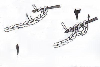 آموزش قلاب بافی - بافت پایه ساده