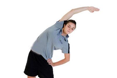 پزشکی و سلامت ورزش  , حرکات کششی برای تقویت عضلات زیر بغل