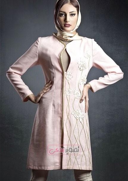 مدل مانتو مجلسی 94 برند ایرانی هانی