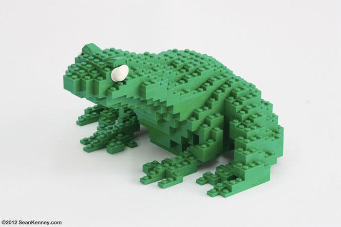 ساخت مجسمه حیوانات با لگو