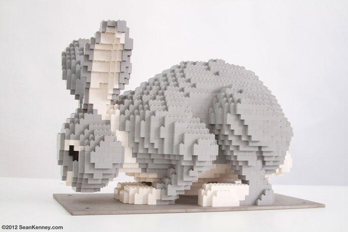 حیوانات ساخته شده با لگو