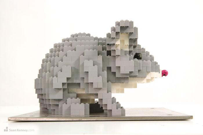 ساخت مجسمه های لگویی