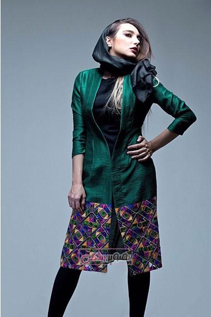 مدل مانتو جدید - مدل مانتو دخترانه - مانتو تابستانی