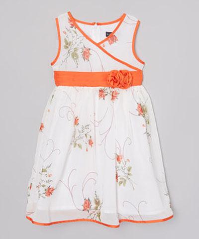 مدل لباس بچگانه - لباس تابستانی دخترانه