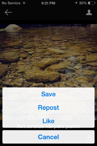 ویرایش عکس در اینستاگرام, ذخیره عکس های اینستاگرام