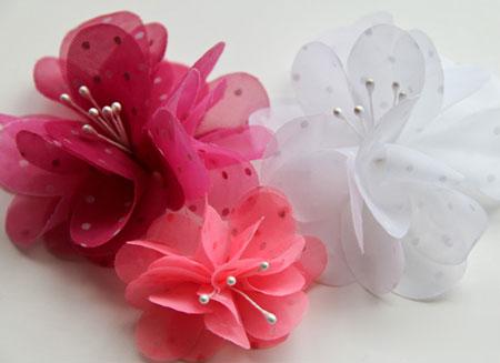 آموزش ساخت گل پارچه ای زیبا و کاربردی