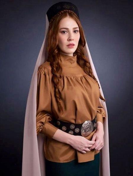 شخصیت خارجی عکس و کلیپ  , عکس ژاله بازیگر سریال روزی روزگاری