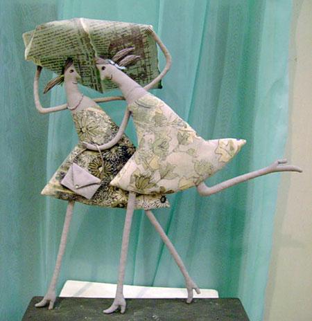 عروسک های زیبا - مجسمه های هنرمندانه