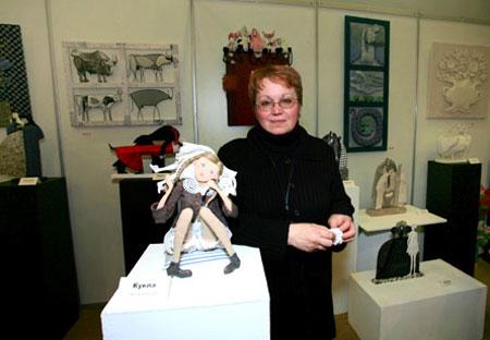 تاتیانا Ovchinnikov - عروسک پارچه ای - مجسمه های هنرمندانه