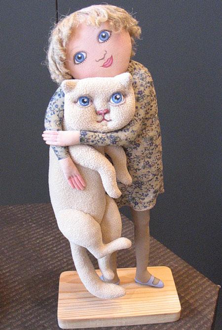 تاتیانا Ovchinnikov - مجسمه پارچه ای - عروسک های هنرمندانه