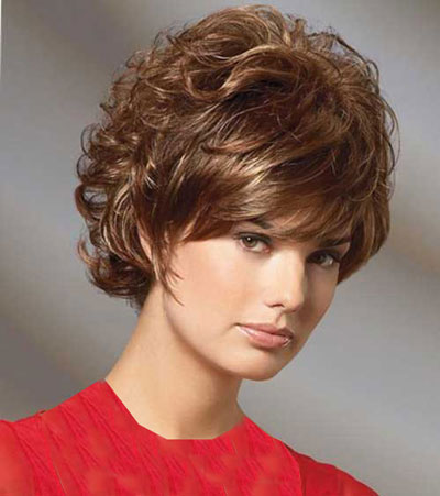 مدل موهای کوتاه دخترانه  - موی کوتاه برای صورت گرد