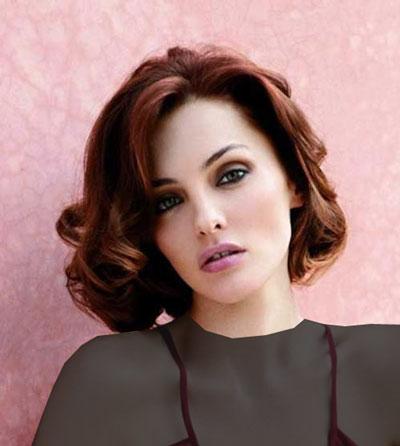 مدل موهای کوتاه زنانه - موی کوتاه برای صورت گرد