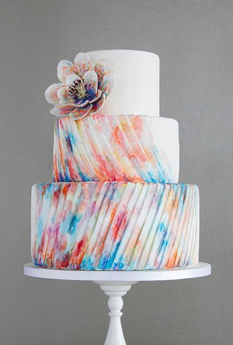 نقاشی روی کیک , تزیین کیک