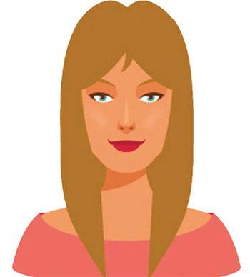 انتخاب مدل موی متناسب با فرم صورت
