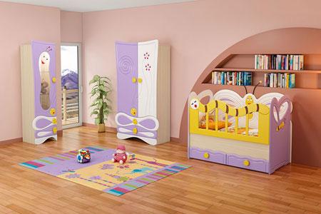 دکوراسیون سرویس خواب نوزاد , دکوراسیون و چیدمان اتاق خواب