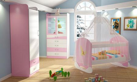 دکوراسیون سرویس خواب نوزادی, دکوراسیون و چیدمان اتاق خواب