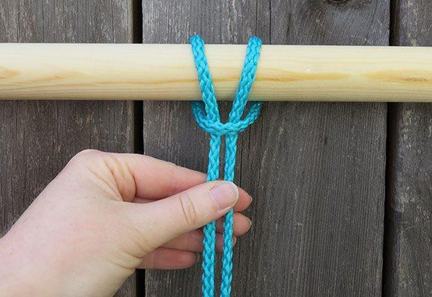آموزش مکرومه - آموزش طناب بافی - آموزش بافت تاب مکرومه