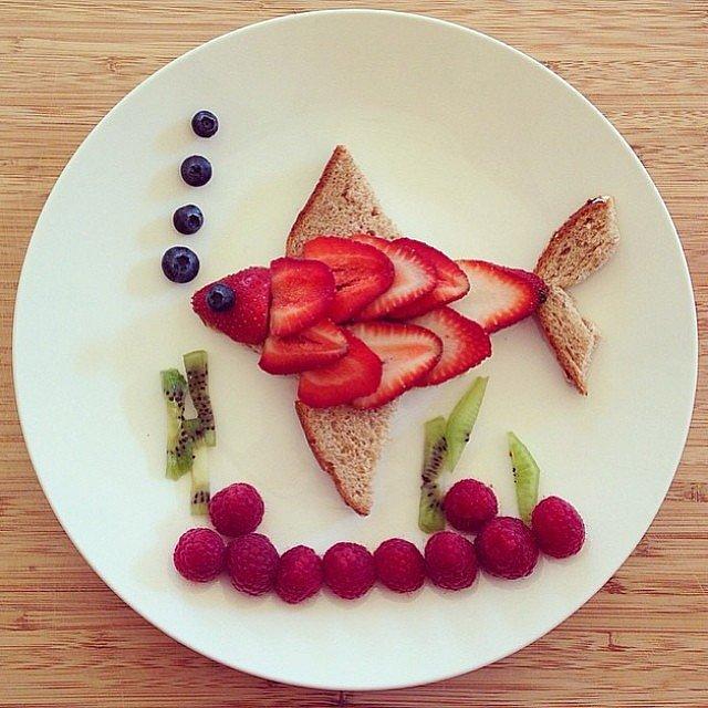 تزئین غذا به شکل حیوانات - تزیین غذای کودکان