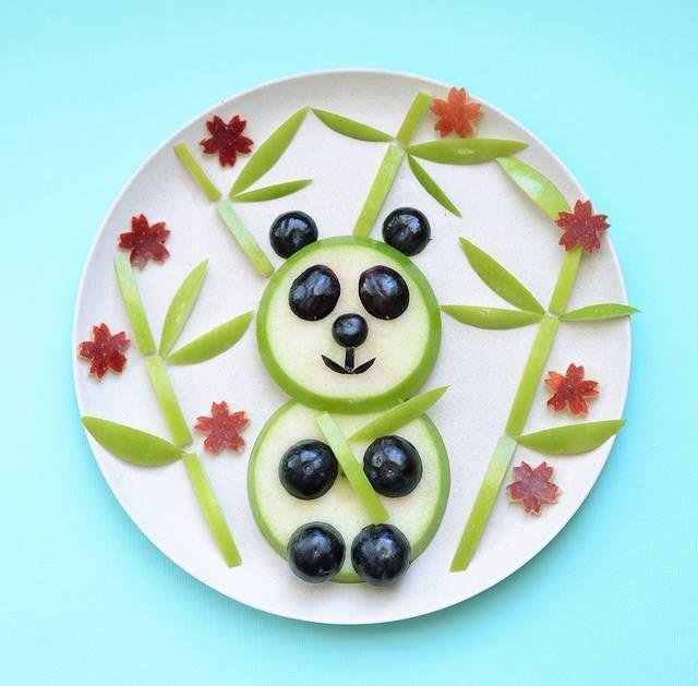 تزیین غذا به شکل حیوانات - تزیین غذای کودکان