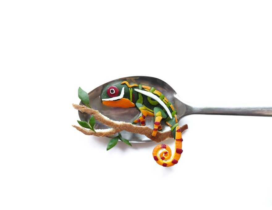 تزیین مواد غذایی - تزیین خوراکی ها