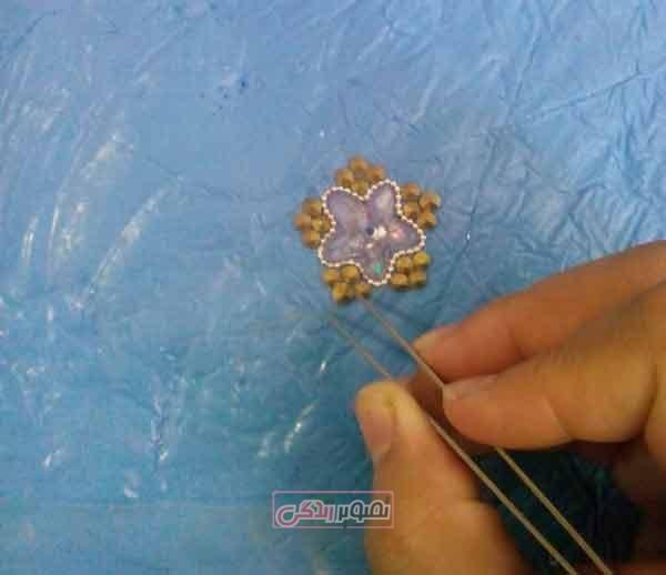 ساخت تاج - تزیین گیره سر - هنر تاج سازی