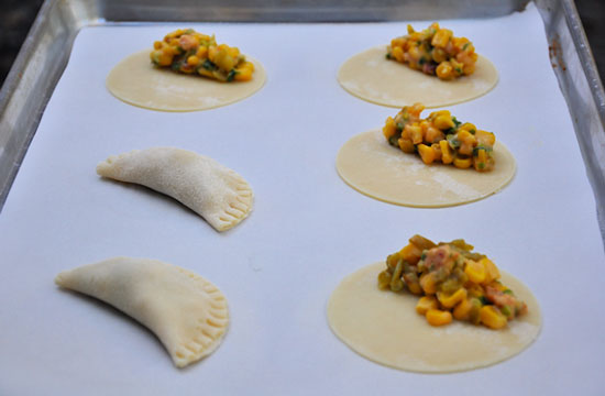 طرز تهیه پای گوشت و ذرت (اسپانیایی)
