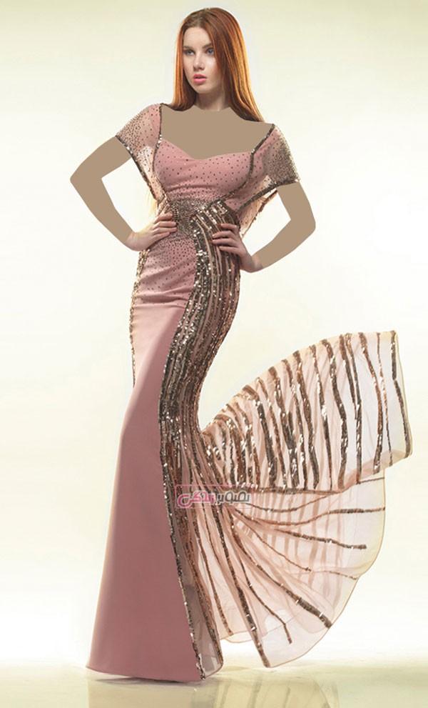 لباس مجلسی 2015 - لباس مجلسی بلند
