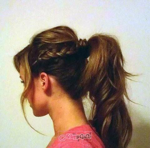 مدل بافت مو دخترانه - مدل بافت مو جدید