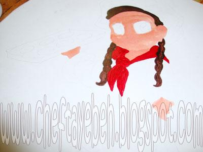 آموزش نقاشی روی ژله - آموزش روش تهیه ژله تصویری