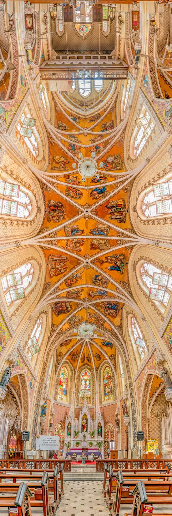 عکس های پانوراما از کلیساهای مشهور جهان