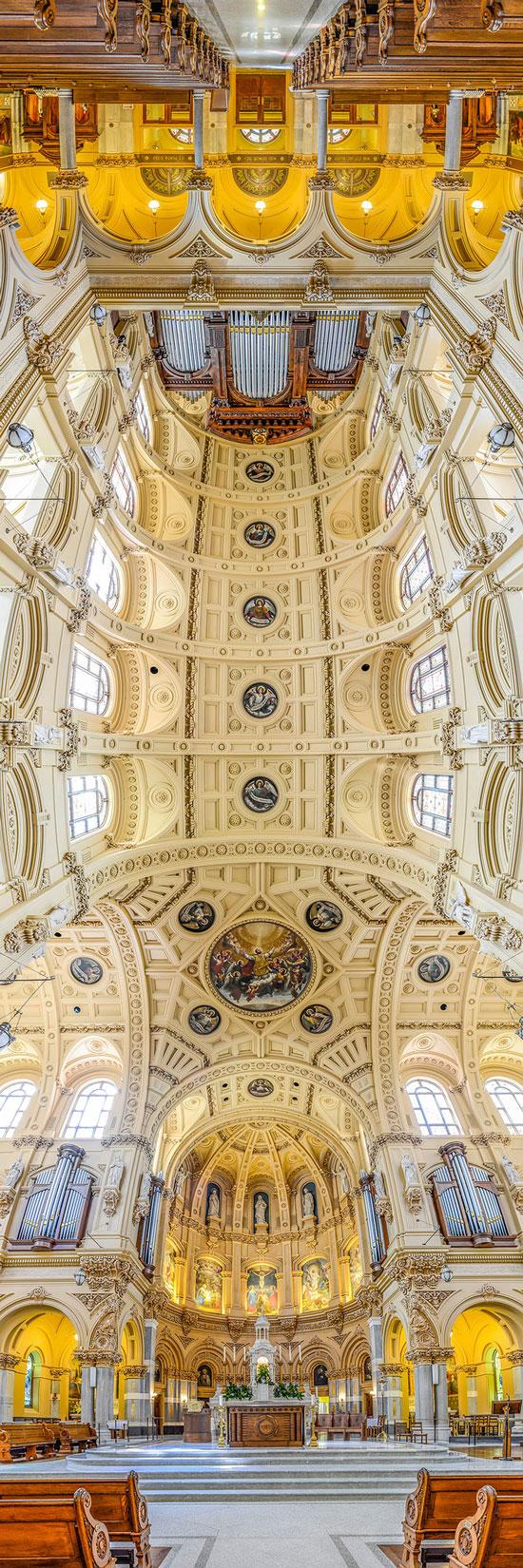 تصاویر پانوراما از کلیساهای مشهور جهان