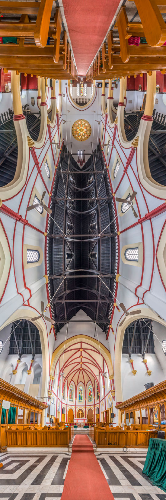 عکسهای پانوراما از کلیساهای مشهور جهان