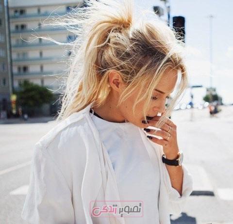 مدل بافت مو برای موهای بلند - مدل موی دخترانه