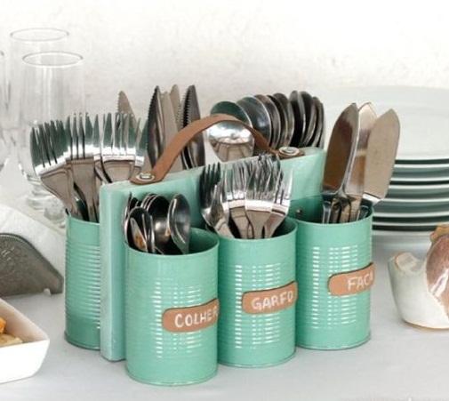 بازیافت قوطی های خالی فلزی