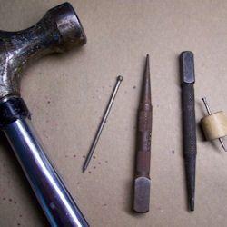 سوراخ کردن قوطی فلزی ,ساخت آباژور , تزیین قوطی فلزی