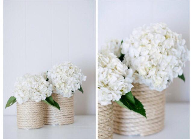 بازیافت قوطیهای فلزی - ساخت گلدان
