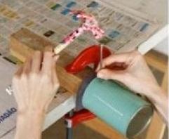 هنر بازیافت - استفاده از قوطی های فلزی